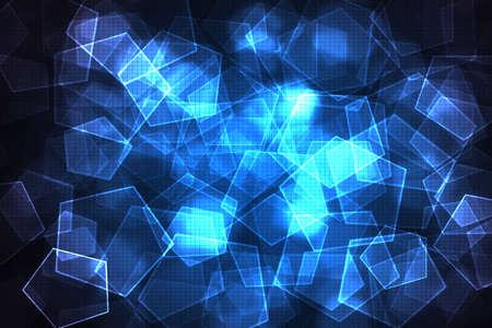 blue diamond overlap with light