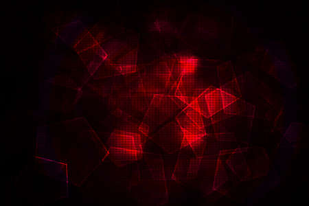 abstract red ligth shining overlap Stock Photo - 18556337