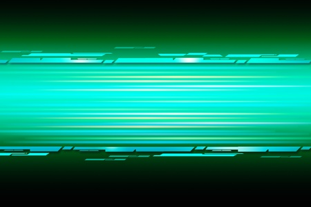 green straight shiny lines abstract background Stock Photo