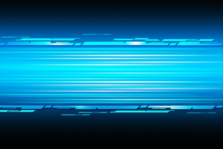blue straight shiny lines abstract background photo