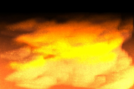 fire orange artistic hand drawn background photo
