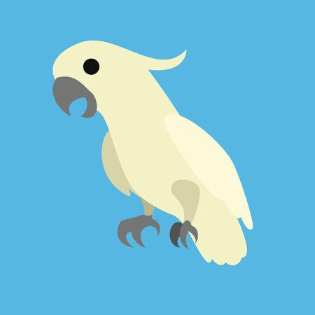 image graphic style of bird  isolated on white background photo
