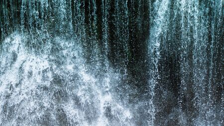 Abstract hard waterfall texture background Stock Photo