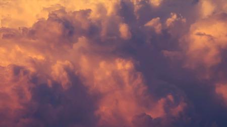 Texture of sunset cloud sky