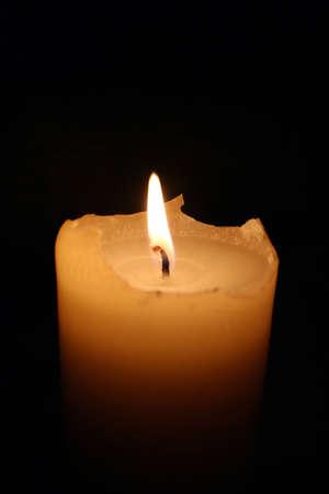 두꺼운 촛불 굽기 스톡 콘텐츠
