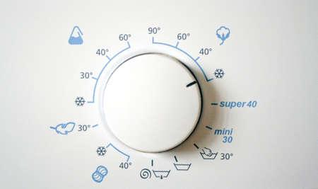washingmachine program Reklamní fotografie