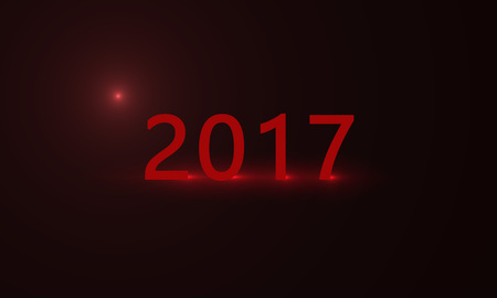title: 2017 year red title