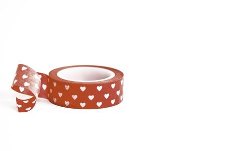 japanese paper: Japanese Washi Masking Tape, decoration Tape with Hearts