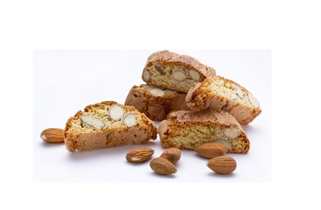 original Italian crisp almond cookies - sweet food
