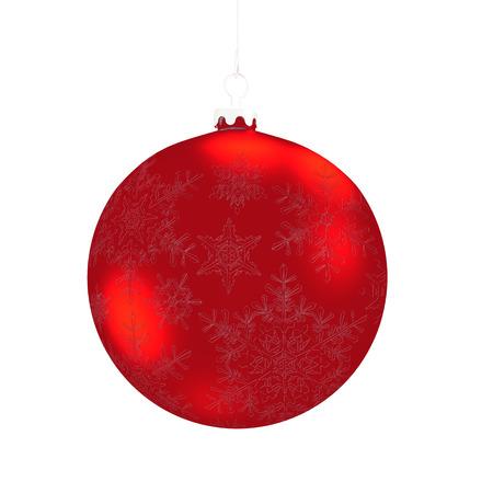 Merry Xmas decoraci�n cl�sica. 3D detallado aislado en blanco photo