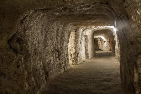tunneling: Catacombs of Saint Paul to Malta