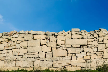 capping: Sky and Stone wall