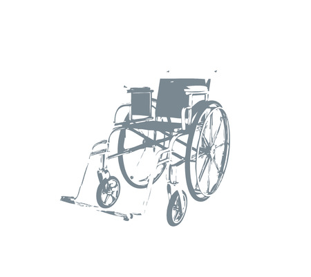 ramp: Problems of people with disabilities  Illustration