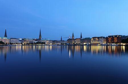 hamburg: City of Hamburg Stock Photo
