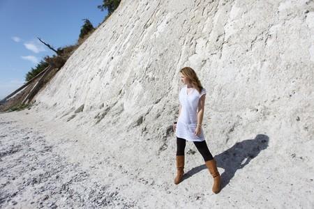 Chalk cliffs of the german island Rügen