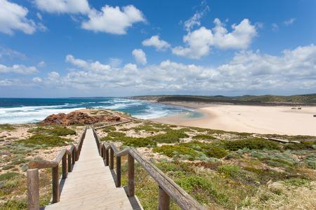 praia: Praia da Bordeira Algarve Portugal