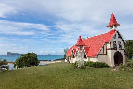Cap Malheureux Mauritius Stock Photo