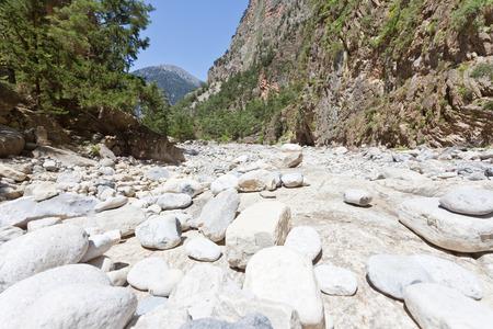 Gorge of Samaria Crete Greece