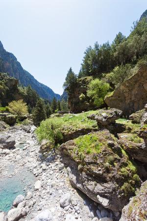 Smaria Gorge Crete Greece