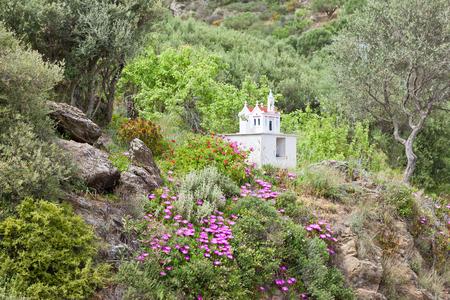 Iconastasis Crete Greece Stock Photo