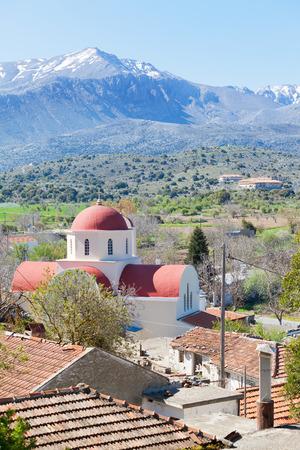 Church of Lassithi Crete Greece