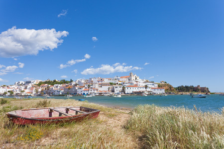 portugal: Ferragudo Algarve Portugal Stock Photo