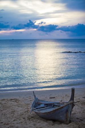Evening beach in Thailand