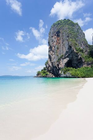 Idyll of Phra Nang Beach in Thailand