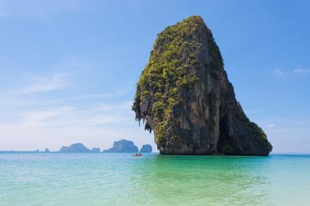 phra nang: Phra Nang Beach in Krabi, Thailand
