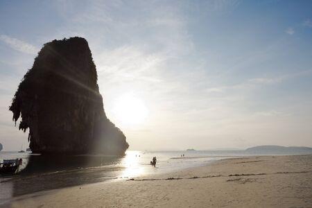 phra nang: Phra Nang Beach in Thailand