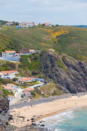 Praia da Arrifana in Algarve, Portugal