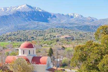 Church of Lassithi in Crete, Greece