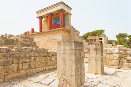 Temple of Knossos in Crete, Greece