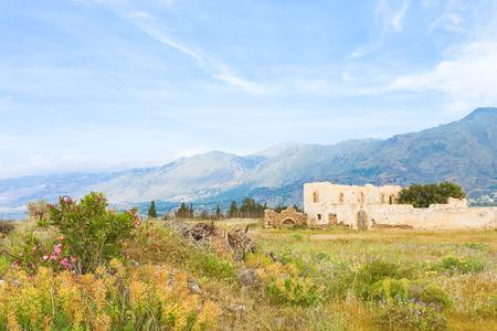 Fragokastello in Crete, Greece Stock Photo