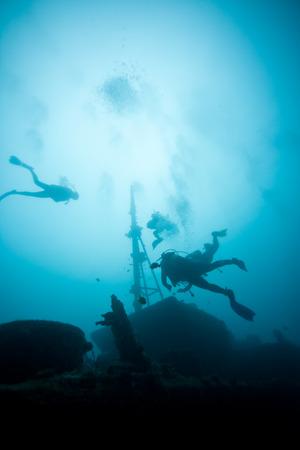 Wreck of Stella Maru Mauritius Africa