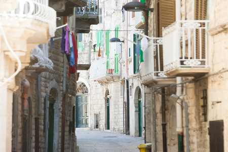Molfetta, Apulia, Italy - Living like the citizens of Molfetta in the Middle Ages Editorial