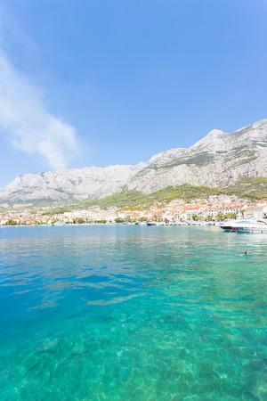 Makarska, Dalmatia, Croatia, Europe - Visiting the beautiful bay of Makarska