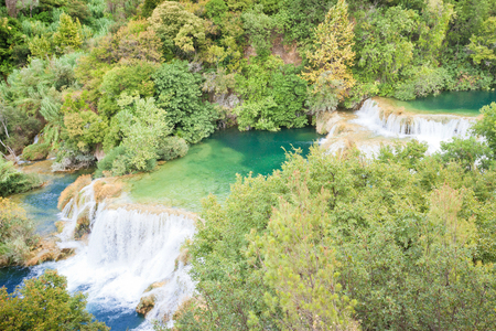 Krka, Sibenik, Croatia, Europe -  Visiting the famous Cascades of Krka