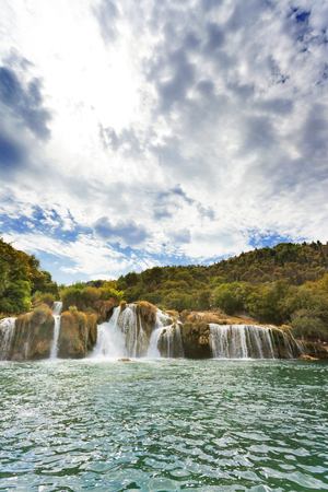 Krka, Sibenik, Croatia, Europe - Getting the chance to visit Krka all on your own Standard-Bild