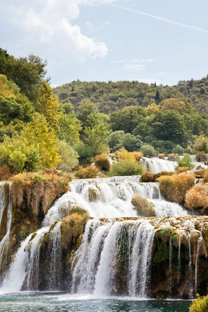 Krka, Sibenik, Croatia, Europe - Experiencing a sunny summer at Krka National Park Standard-Bild