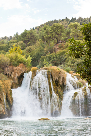 Krka, Sibenik, Croatia, Europe - Lots of chutes at Krka National Park