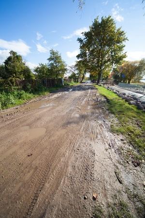 dirty rural road photo