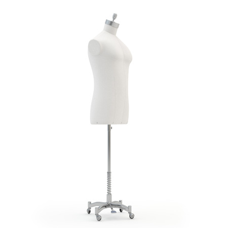 Male  mannequin on a white background, isolated photo