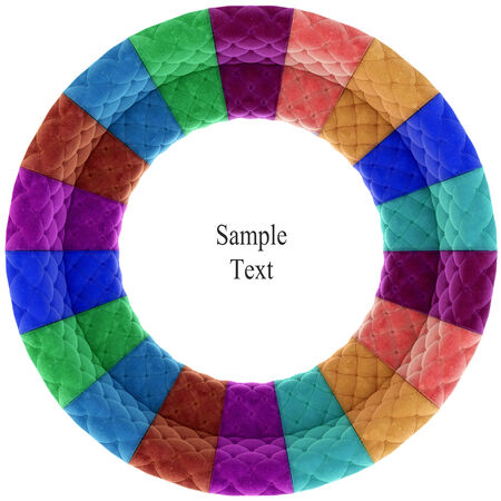 velvet texture: Retro velvet circle texture
