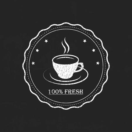 Set caffè retrò vintage Archivio Fotografico - 37068319