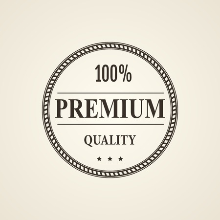 quality guarantee: Premium Quality and Guarantee Vintage Labels