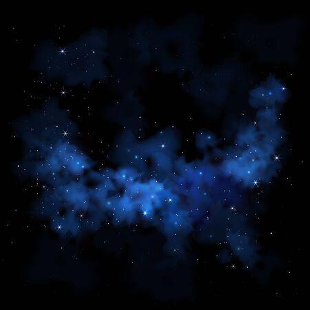 swagger: Vibrant night sky  Milky Way  Space galaxy nebula clouds stars
