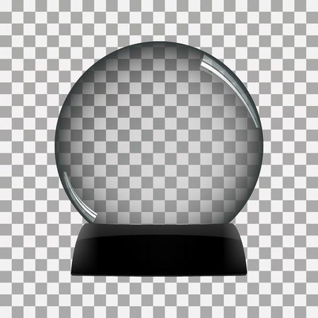 snowglobe: Snow globe vector winter transparent background  toy