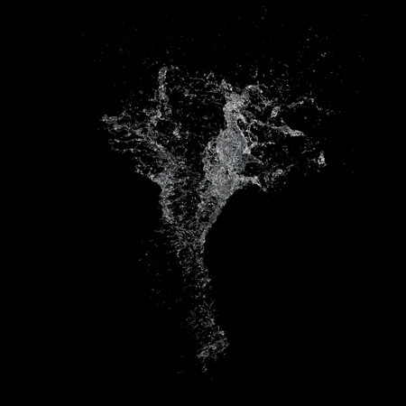 welling: Water splash isolated , spray , wave 3d illustration