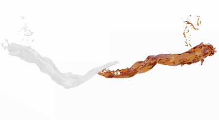 wet flies: Water splash isolated , spray , wave . Isolated, white background.. 3D  illustration .Vector illustration.